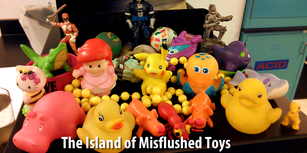 The Island of Misflushed Toys - Charleston Water System