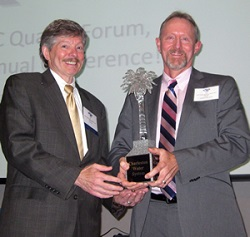 Accepting Governors Quality Award