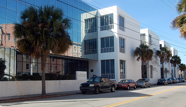 Charleston Water System's main office, downtown Charleston